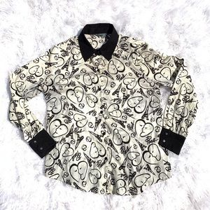 〰️Catherine Malandrino〰️ blouse